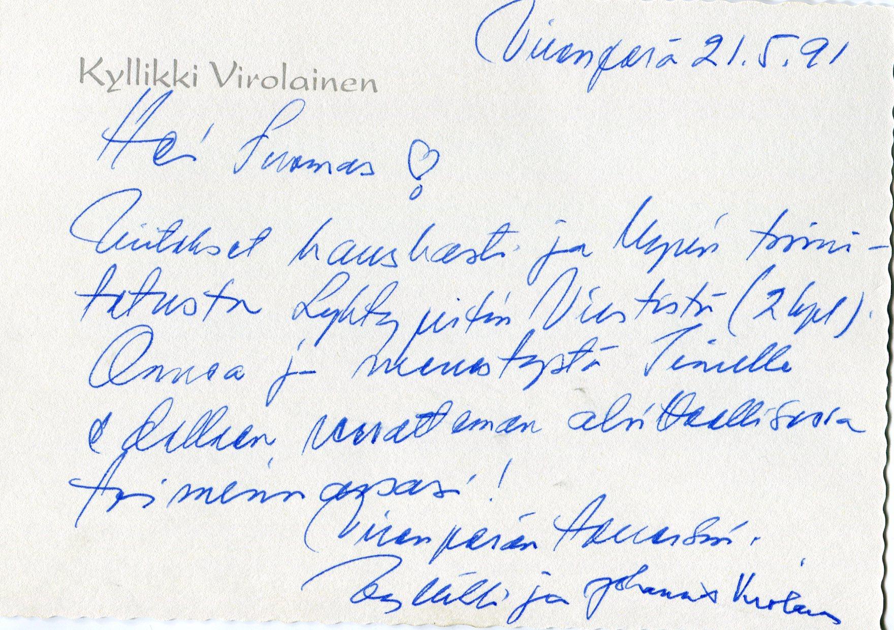 Kirje_Kyllikki3018